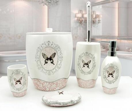 Pięcioczęściowy zestaw łazienkowy Mira