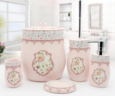 Pięcioczęściowy zestaw łazienkowy Rosalinda