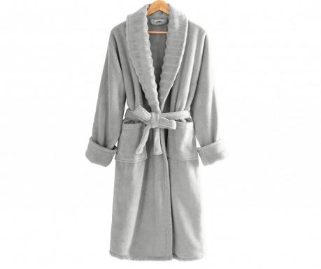 Халат за баня унисекс Waves Grey L-XL