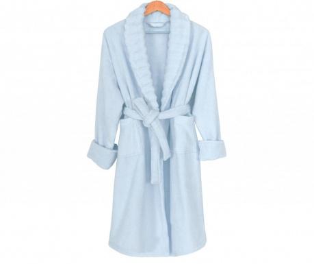 Халат за баня унисекс Waves Light Blue L-XL
