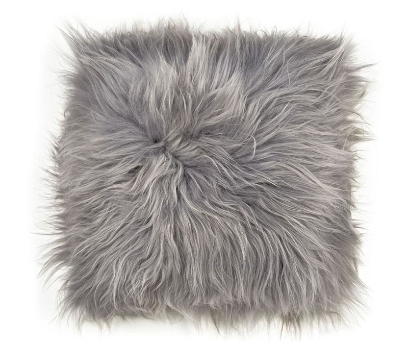Sedežna blazina Icelandic Long Melange Grey 37x37 cm