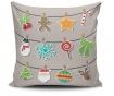 Poduszka dekoracyjna Christmas Candy 45x45 cm