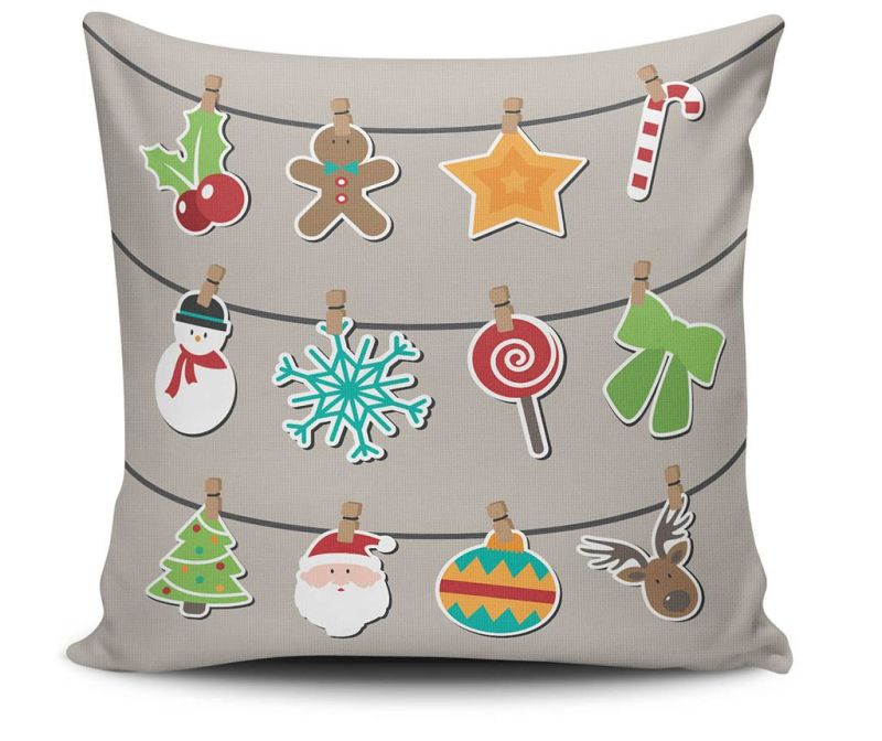 Perna decorativa Christmas Candy 45x45 cm