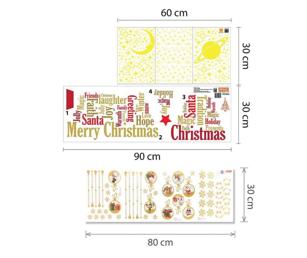 Sticker fosforescent Christmas Treat