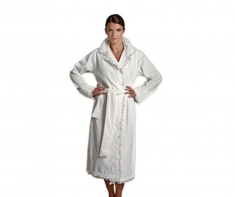 Дамски халат за баня Rebecca Cream