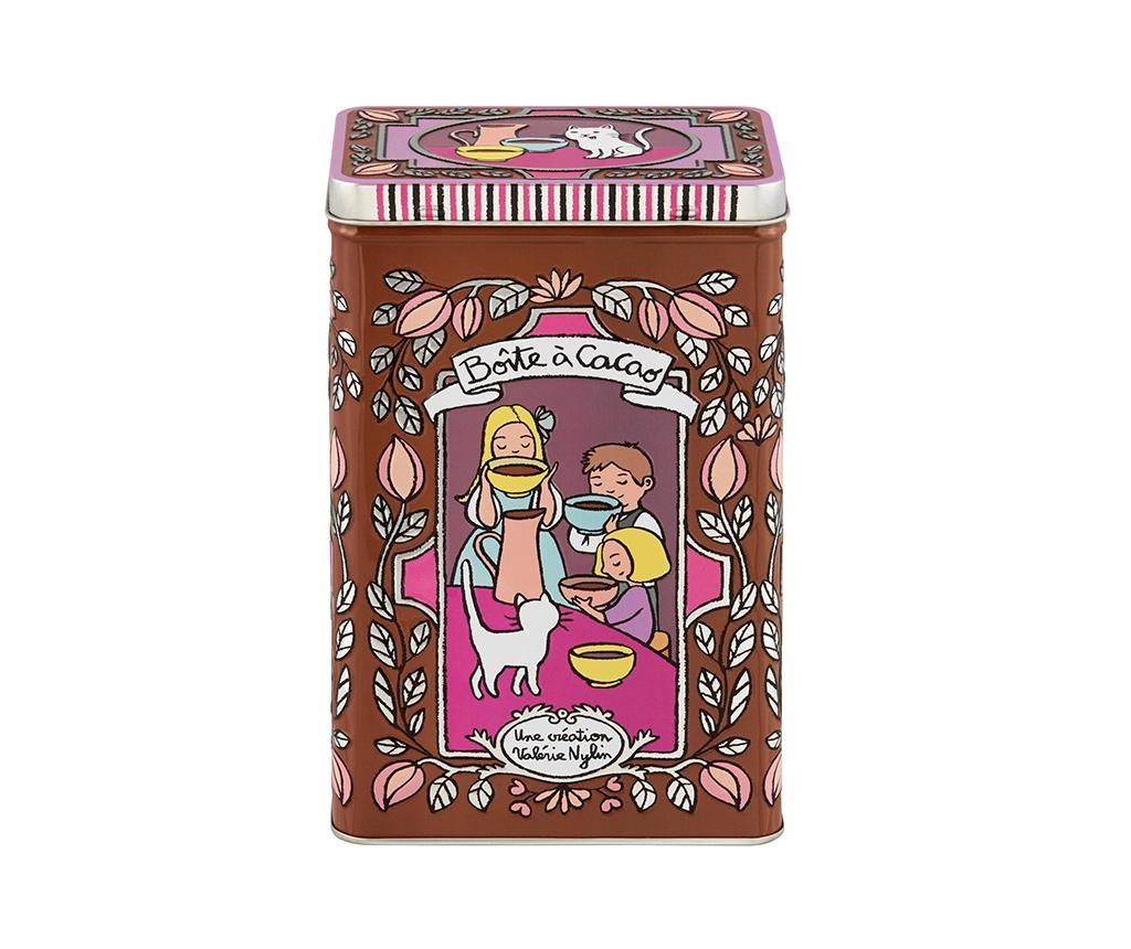 Cacao Doboz fedővel