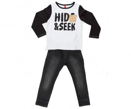 Σετ παιδική μπλούζα και παντελόνι Hide And Seek