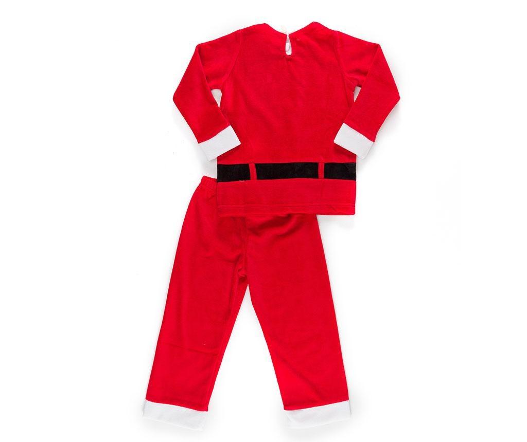 Set bluza si pantaloni pentru copii Christmas  Santa Boy 7 ani