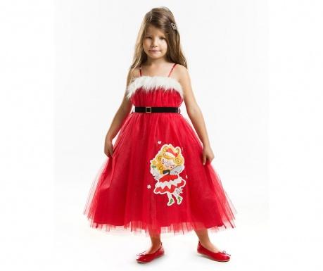 Otroška obleka brez rokavov Tulle Christmas Fairy 2 let