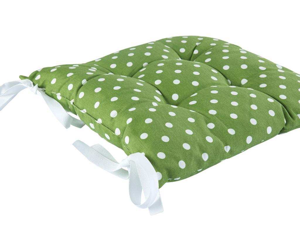 Perna de sezut Green Dots 41x41 cm