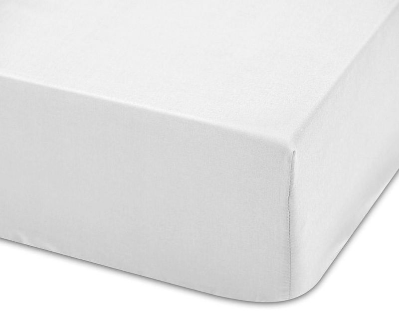 Cearsaf de patut cu elastic Lisa Blanco 70x140 cm