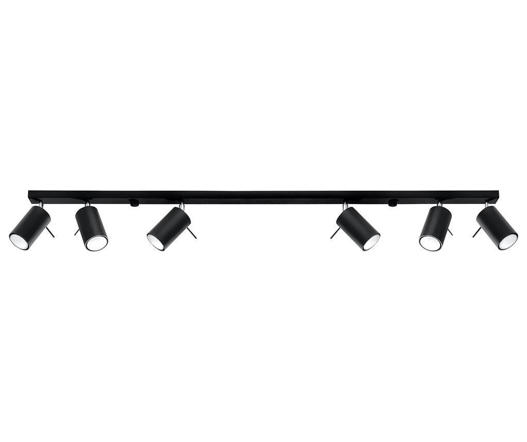 Závěsná lampa Etna Six Black