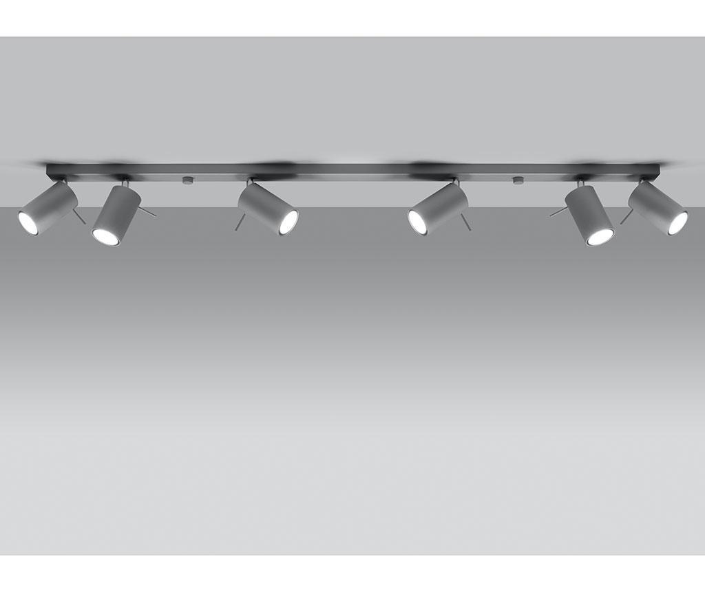 Stropna svjetiljka Etna Six Grey