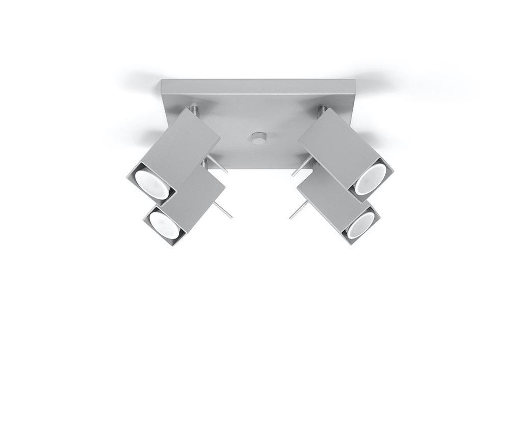Stropna svjetiljka Toscana Four Square Grey