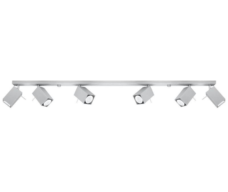 Stropna svjetiljka Toscana Six Grey