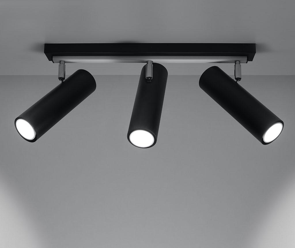 Stropna svjetiljka Mira Three Black