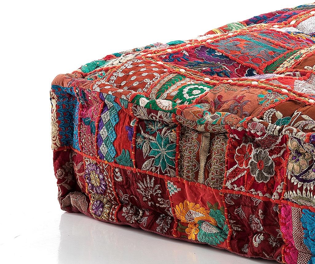 Yantra Red Patch Padlópárna 40x80 cm
