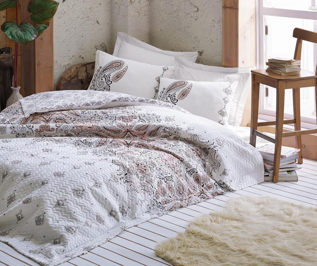 Prešívaná posteľná bielizeň King Ranforce Harley