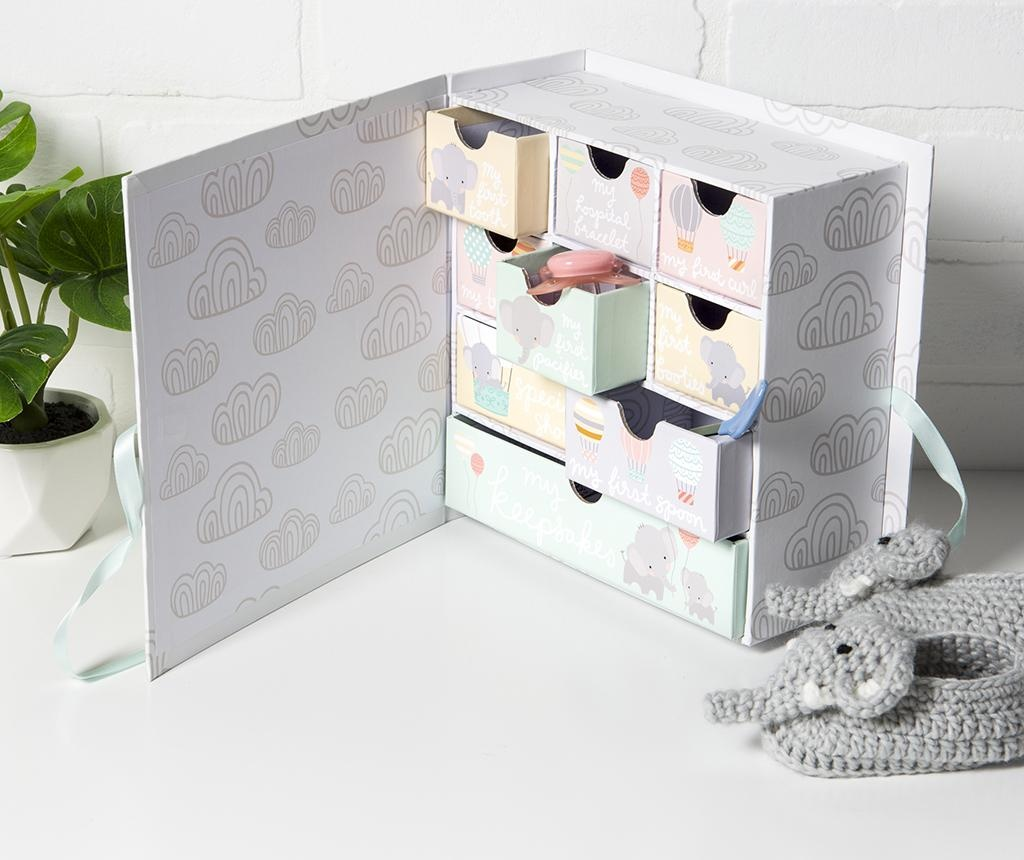 Škatla za spominke Love Elephant