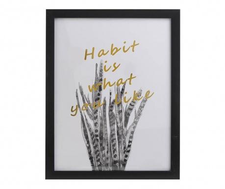 Habbit Kép 30x40 cm