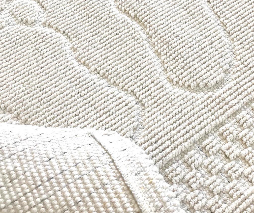 Kopalniška preproga Feet White 50x70 cm