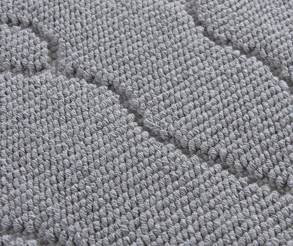 Kopalniška preproga Feet Grey 50x70 cm