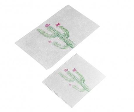 Fiore Cactus 2 db Fürdőszobai szőnyeg