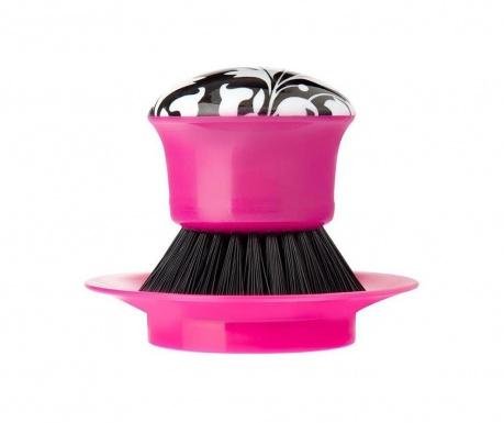 Ščetka za posodo z držalom Rococco Pink