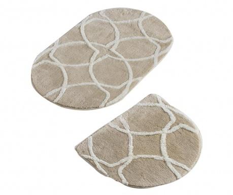 Bevis Oval Rock 2 db Fürdőszobai szőnyeg