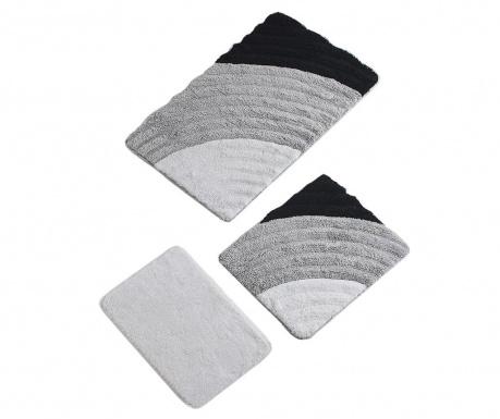 Cole Grey 3 db Fürdőszobai szőnyeg