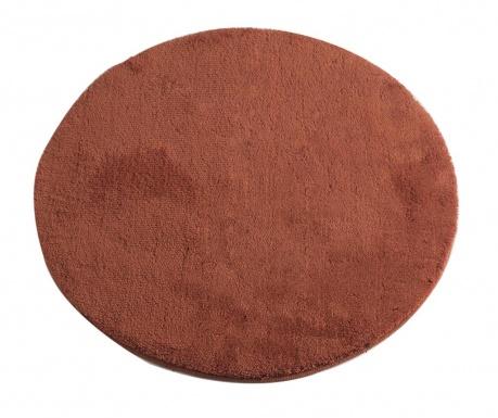 Circle Brick Red Fürdőszobai szőnyeg 90 cm