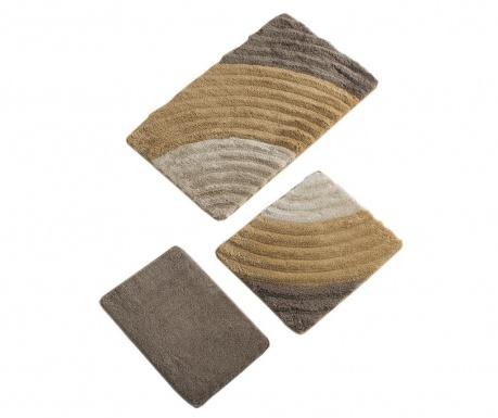 Cole Caramel 3 db Fürdőszobai szőnyeg
