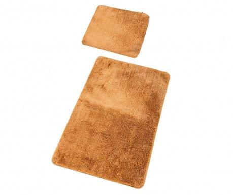 Plain Beige 2 db Fürdőszobai szőnyeg