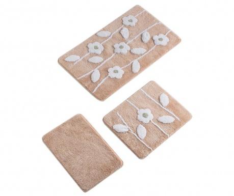 Talia Salmon 3 db Fürdőszobai szőnyeg