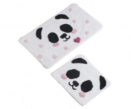 Panda 2 db Fürdőszobai szőnyeg