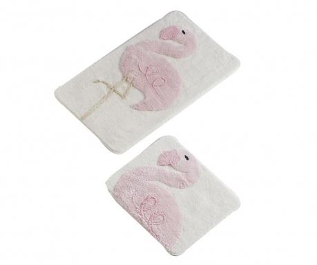 Flamingo 2 db Fürdőszobai szőnyeg