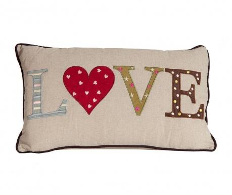 Okrasna blazina Love 30x50 cm