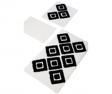 Karo White 3 db Fürdőszobai szőnyeg