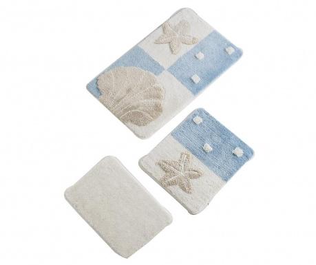 Fenton Blue 3 db Fürdőszobai szőnyeg