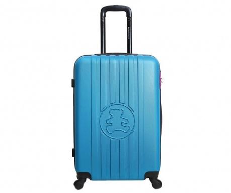 Kovček na kolesih Lulu Bear Blue