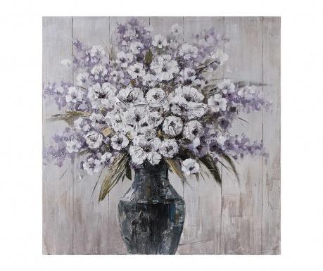 Slika Vase Of Flowers 100x100 cm