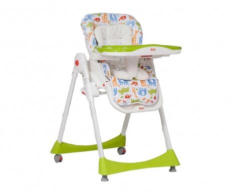 Scaun pentru copii Delicious Green