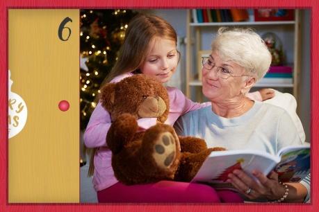 Коледа в дома на баба и дядо