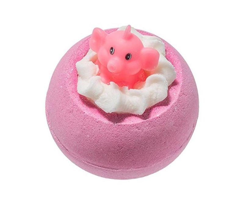 Šumivá sůl do koupele Pink Elephants and Lemonade 160 g