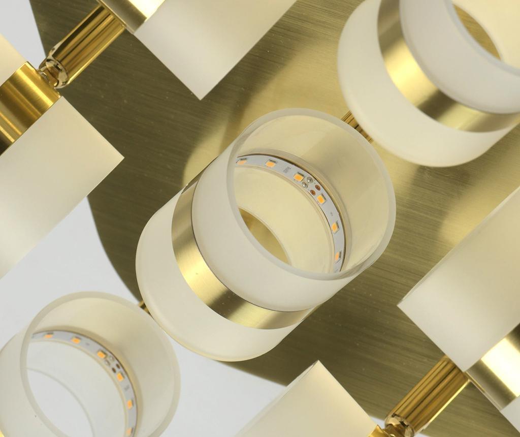 Stropna svjetiljka Earl Nine Gold