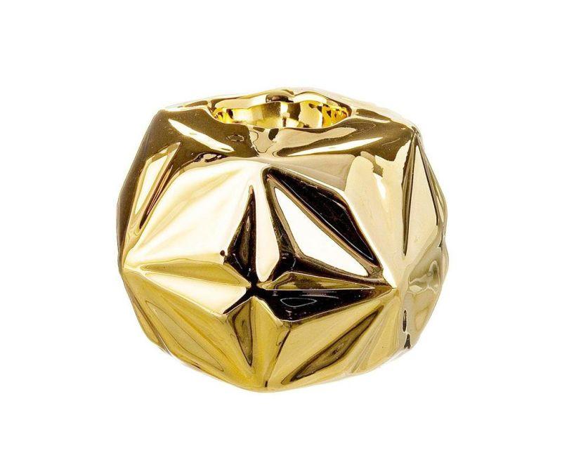 Držač za svijeću Origami Gold