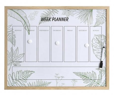 Εβδομαδιαίος οργανωτής Green Leaves