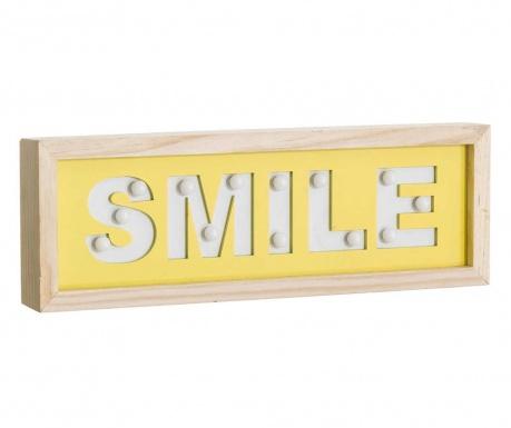 Φωτεινό διακοσμητικό τοίχου Smile