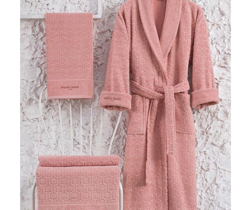 3-dijelni set kupaonskih tekstila Gladis Salmon XL