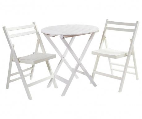 Utaria Összecsukható asztal és 2 db szék